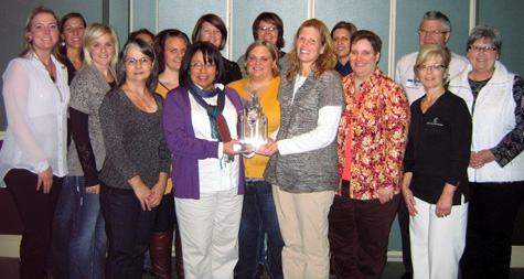 Council Bluffs Staff Award